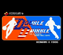 Double Dribble (ARC)  © Konami 1986   1/3