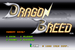 Dragon Breed (ARC)  © Irem 1989   1/5