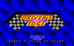 Driver's Edge (ARC)  © Strata 1994   1/3