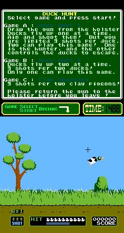 Duck Hunt (ARC)  © Nintendo 1984   2/3