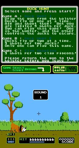 Duck Hunt (ARC)  © Nintendo 1984   3/3