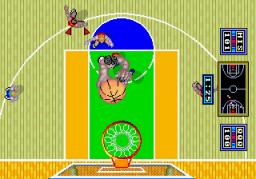 Dunk Shot (ARC)  © Sega 1986   2/3