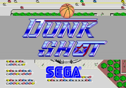 Dunk Shot (ARC)  © Sega 1986   1/3