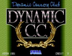 Dynamic Country Club (ARC)  © Sega 1991   1/3