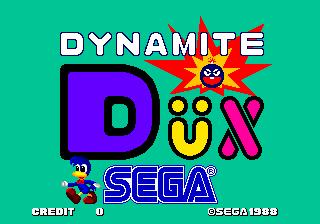 Dynamite Dux (ARC)  © Sega 1989   5/6