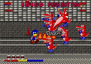 Dynamite Dux (ARC)  © Sega 1989   6/6