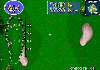 Eagle Shot Golf (ARC)  © Sammy 1995   5/5