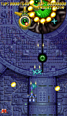 Eight Forces (ARC)  © Tecmo 1994   2/3