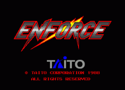 Enforce (ARC)   © Taito 1988    1/4
