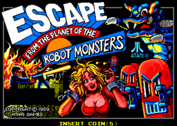 Escape From The Planet Of The Robot Monsters (ARC)  © Atari Games 1989   1/4