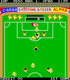 Exciting Soccer (ARC)  © ADK 1983   3/3