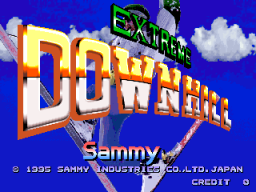 Extreme Downhill (ARC)   © Sammy 1995    1/3