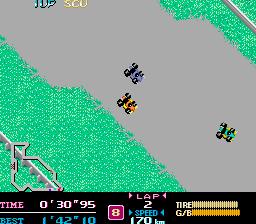 F-1 Dream (ARC)  © Capcom 1988   2/3
