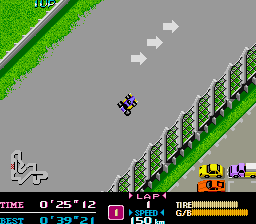 F-1 Dream (ARC)  © Capcom 1988   3/3