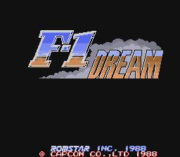 F-1 Dream (ARC)  © Capcom 1988   1/3