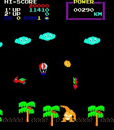 Fantasy (ARC)  © SNK 1981   3/4