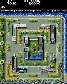 Fast Lane (ARC)  © Konami 1987   3/4