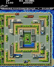 Fast Lane (ARC)  © Konami 1987   4/4