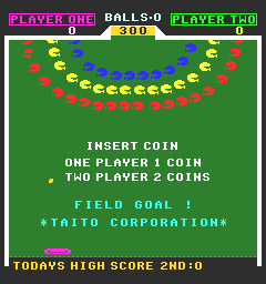Field Goal (ARC)  © Taito 1979   1/3