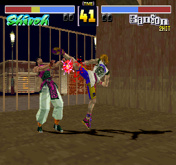 Fighters' Impact (ARC)  © Taito 1996   2/3