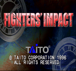 Fighters' Impact (ARC)  © Taito 1996   1/3