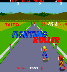 Fighting Roller (ARC)   © Taito 1983    1/4