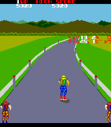 Fighting Roller (ARC)   © Taito 1983    2/4