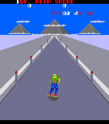 Fighting Roller (ARC)   © Taito 1983    3/4