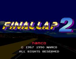 Final Lap 2 (ARC)  © Namco 1991   1/3