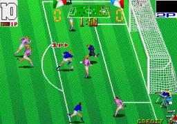 Football Champ (ARC)  © Taito 1990   2/3