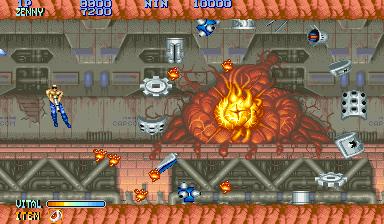 Forgotten Worlds (ARC)  © Capcom 1988   4/5