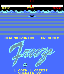 Freeze (ARC)   © Cinematronics 1982    1/3