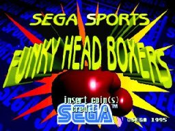 Funky Head Boxers (ARC)  © Sega 1996   1/3
