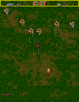 Gain Ground (ARC)  © Sega 1988   2/4