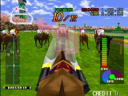 Gallop Racer (ARC)  © Tecmo 1996   3/5