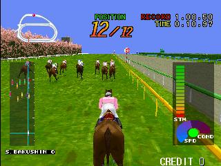 Gallop Racer (ARC)  © Tecmo 1996   4/5
