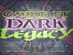 Gauntlet: Dark Legacy (ARC)  © Midway 2000   1/3