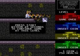 Gauntlet II (ARC)  © Atari Games 1986   3/5