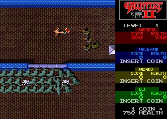 Gauntlet II (ARC)  © Atari Games 1986   4/5