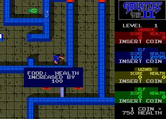 Gauntlet II (ARC)  © Atari Games 1986   5/5
