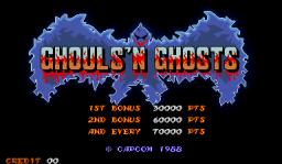Ghouls 'N Ghosts (ARC)  © Capcom 1988   1/4