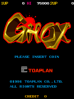Ghox (ARC)  © Toaplan 1991   1/3
