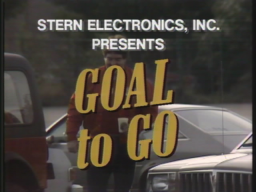Goal To Go (ARC)   © Stern 1983    1/3