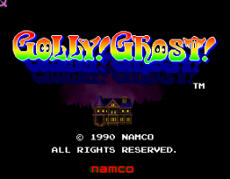 Golly! Ghost! (ARC)  © Namco 1990   1/3