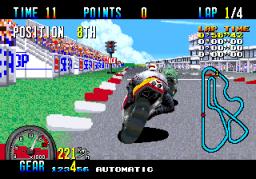 GP Rider (ARC)  © Sega 1990   2/3