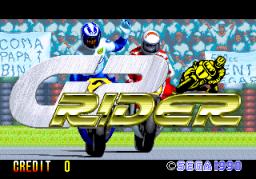 GP Rider (ARC)  © Sega 1990   1/3