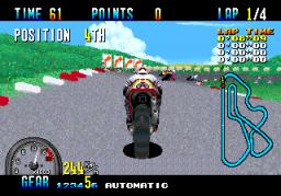 GP Rider (ARC)  © Sega 1990   3/3