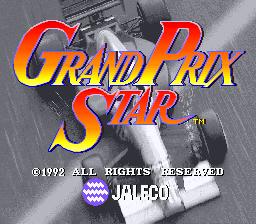 Grand Prix Star (ARC)  © Jaleco 1991   1/3
