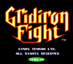 Gridiron Fight (ARC)  © Tecmo 1985   1/3