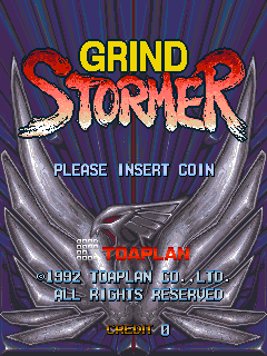 Grind Stormer (ARC)  © Toaplan 1993   5/6